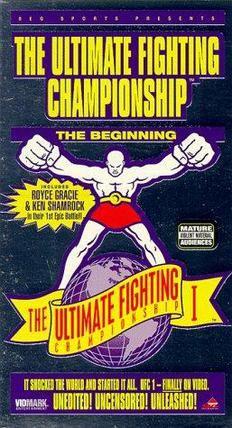 UFC 1 poster