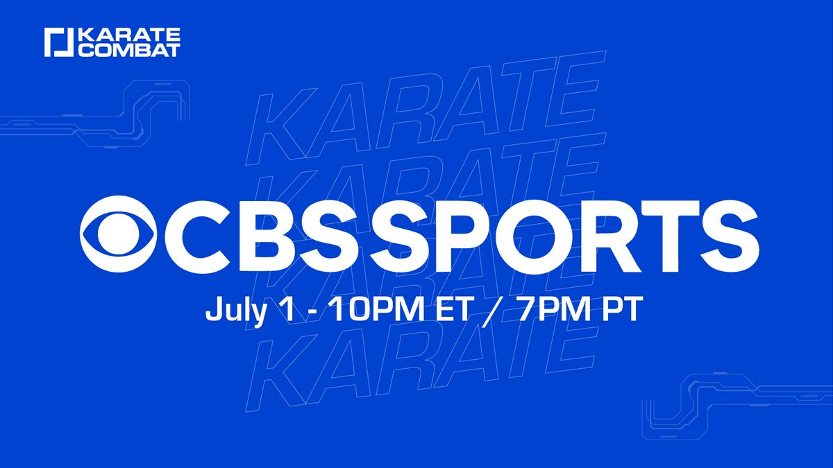 Karate Combat and CBS Sports sign USA broadcast agreement