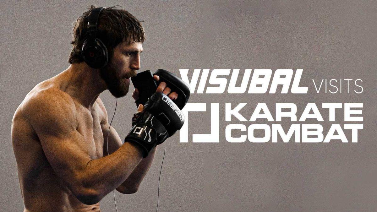 Karate Combat Behind the Scenes - Visubal Visits Josh Quayhagen