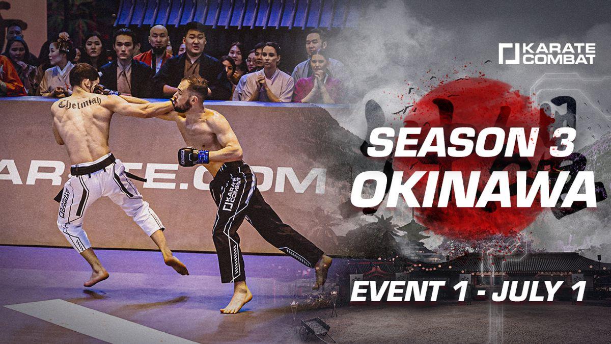 Season 3 - EVENT 1 Fight Card