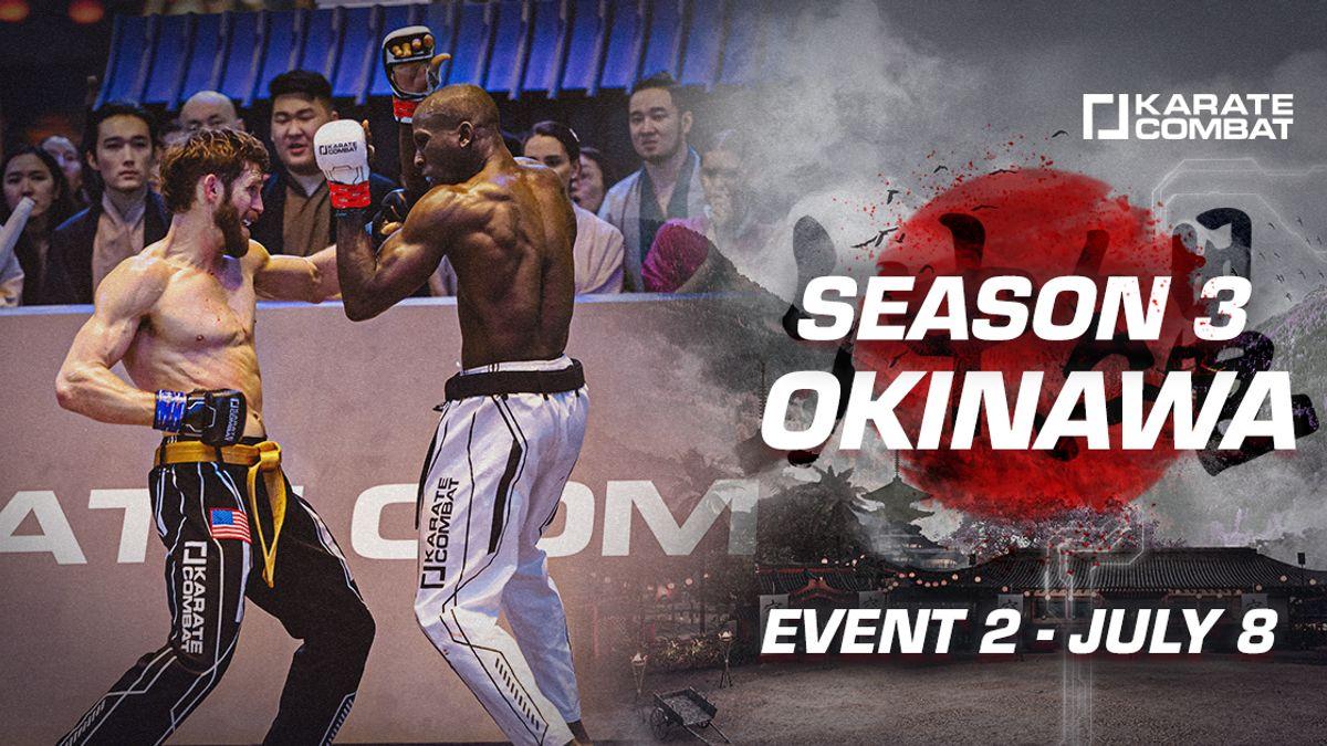 Season 3 - EVENT 2 Fight Card