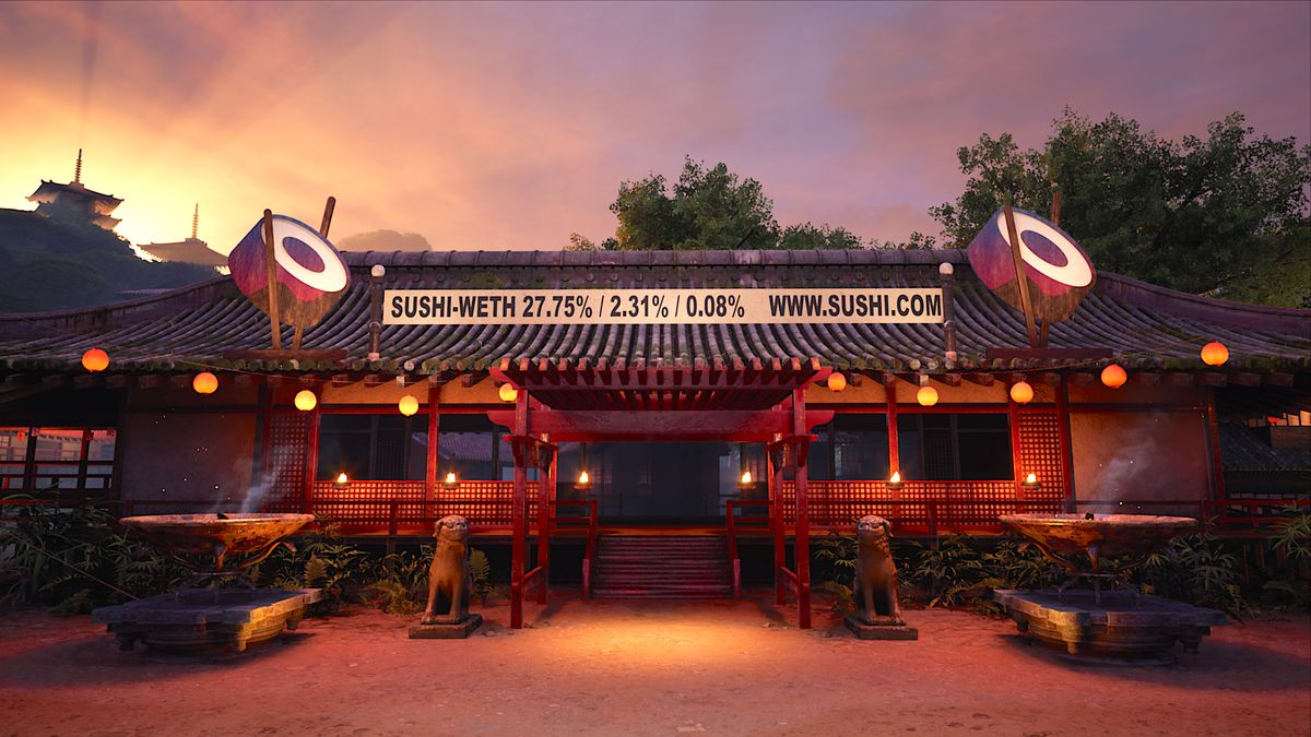 To Tokyo! SushiSwap heads to ancient Japan via Karate Combat collaboration