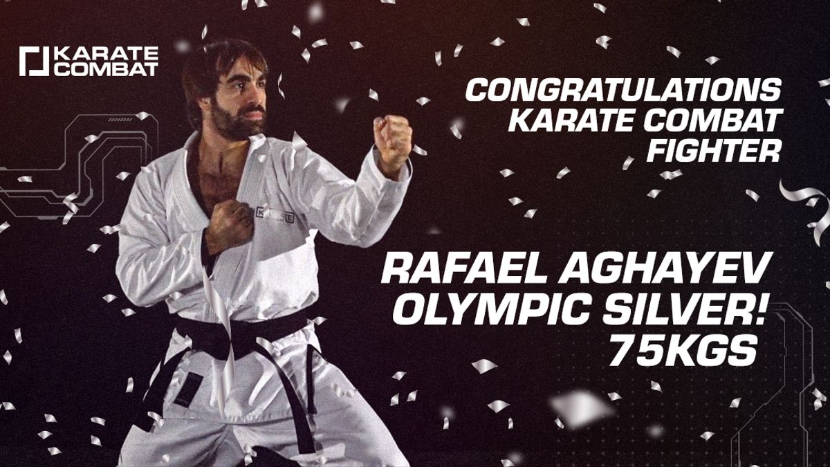 Congratulations on Olympic SILVER - Rafael Aghayev
