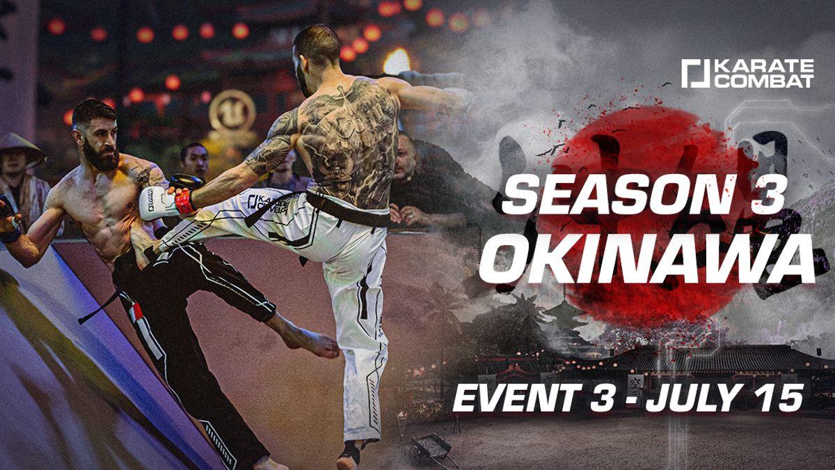 Season 3 - EVENT 3 Fight Card