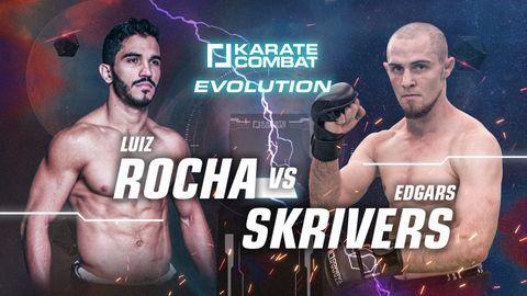 Luiz Rocha vs Edgars Skrivers
