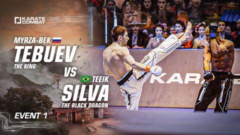 Tebuev vs Silva