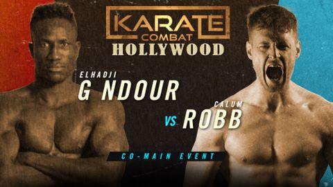 Elhadji G Ndour v Calum Robb