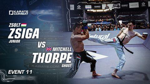 Zsiga vs Thorpe
