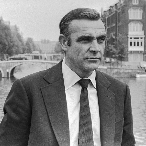 Sean Connery, the original James Bond, has a first degree black belt in Kyokushin karate