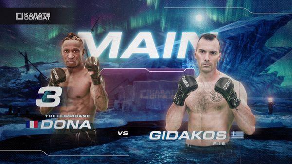 Davy Dona vs Gidakos