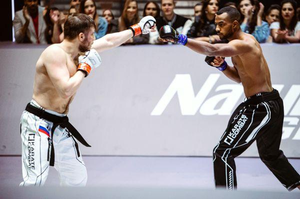 Vasilii Anthokii vs. Reda Messaoudi at Event 6 of Karate Combat Season 3