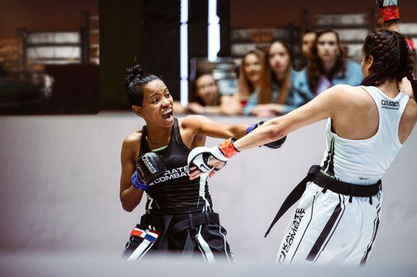 Ana Villanueva vs Fabiola Esquivel in Karate Combat Season 3 Event 8