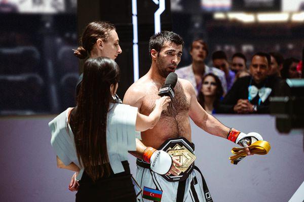 New Karate Combat Middleweight Champion Shahin Atamov