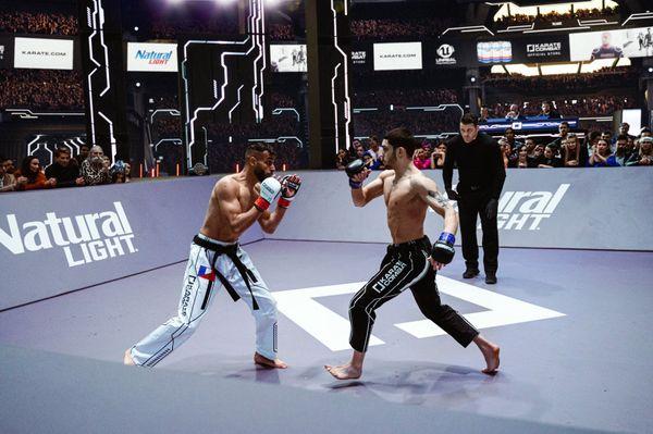 Eoghan Chelmiah vs Ilies Mardhi at Karate Combat Season 3 Finale Event 12