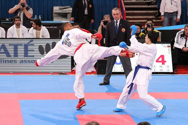 2012 WKF World Karate Championships, photo by Claus Michelfelder (CC BY-SA 3.0)