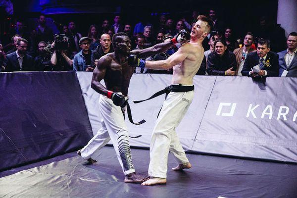 Ndour vs Robb, Karate Combat Hollywood