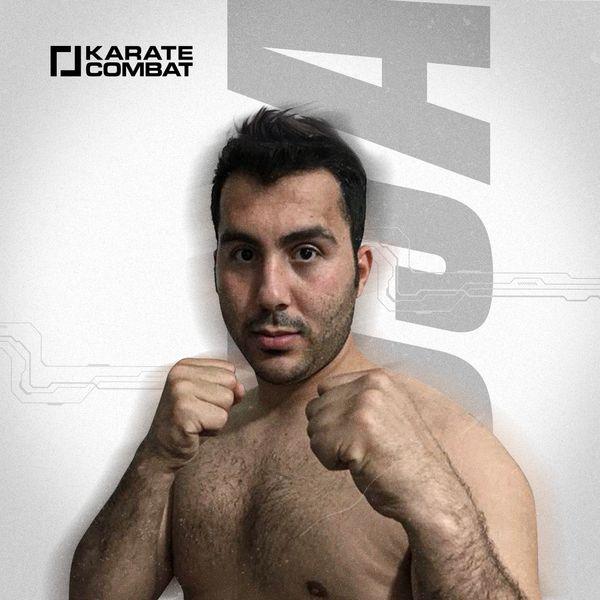 Olympian and Karate Combat fighter Sajjad Ganjzadeh