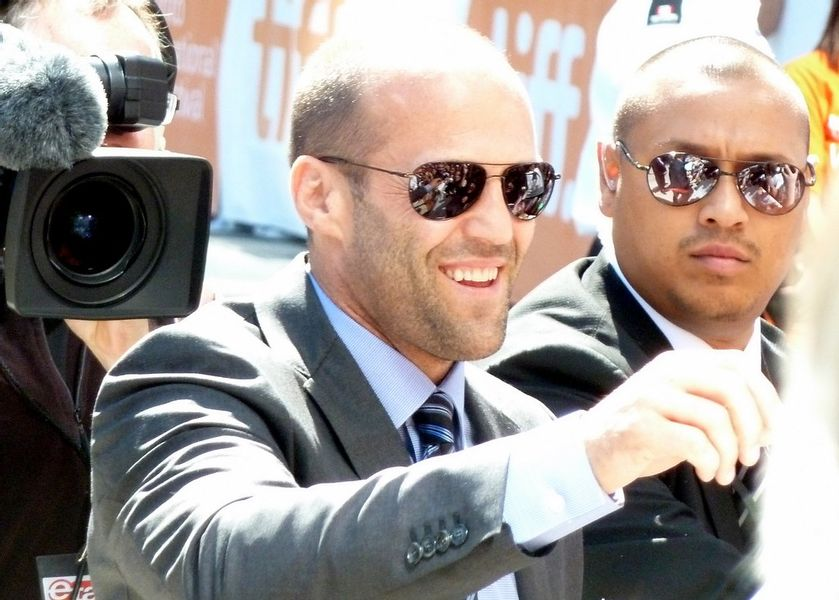 Actor and celebrity, Jason Statham trained in karate, Kung Fu and kickboxing
