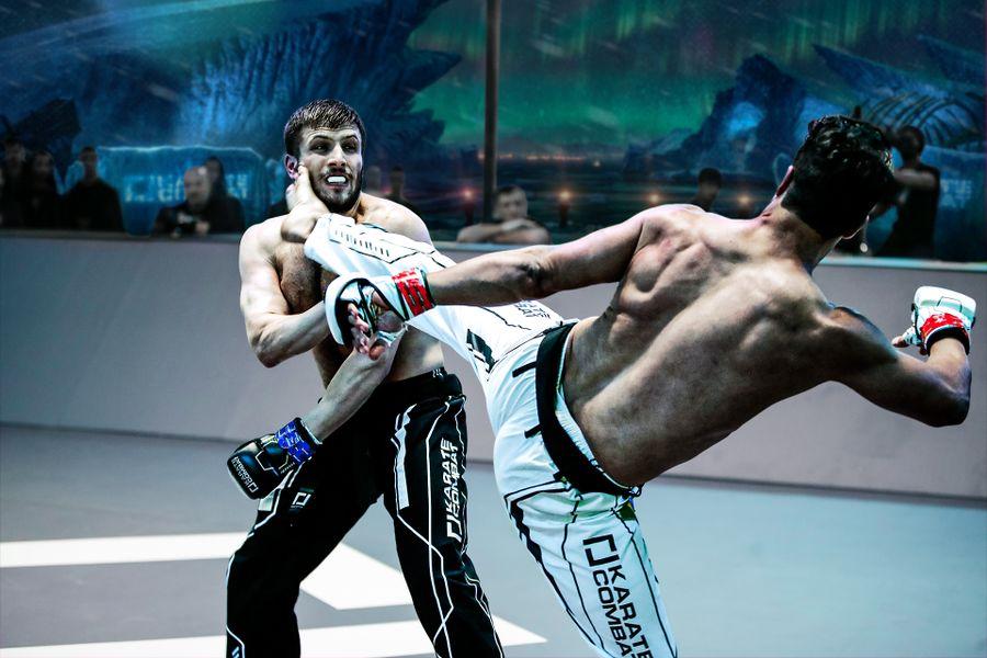 A Karate Combat Fight