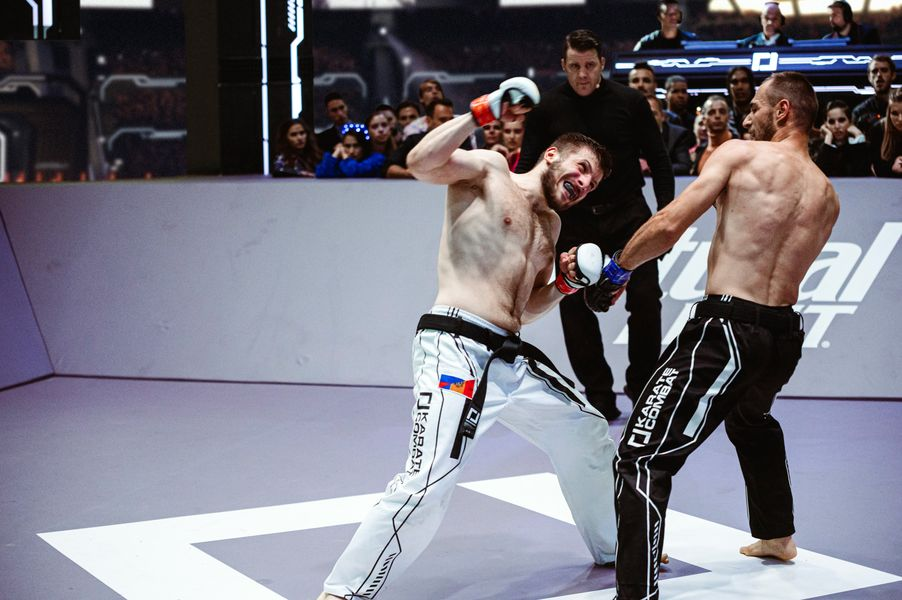 The Fury of Vasilii Antokhii versus Moreno-Paz at Karate Combat Season 3 Event 11