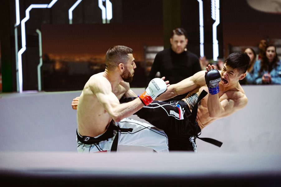 Lazar Kukulicic and Tim Ha both fought hard to earn a Karate Combat contract
