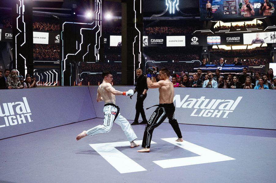 Mitchell Thorpe vs Zsolt Zsiga at Karate Combat Season 3 Event 11
