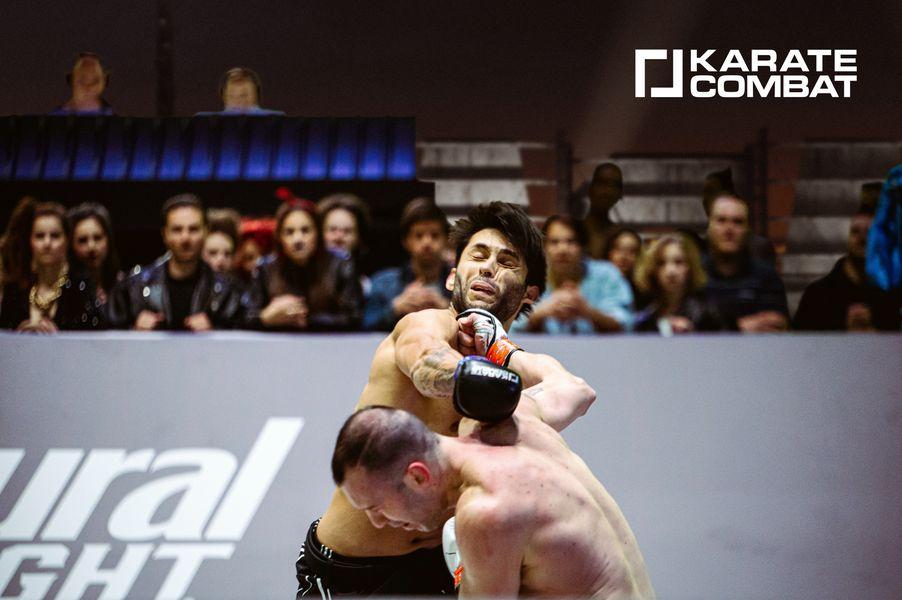 Nikos Gidakos defeats Gilmarcos de Bastos Jr. by Knockout