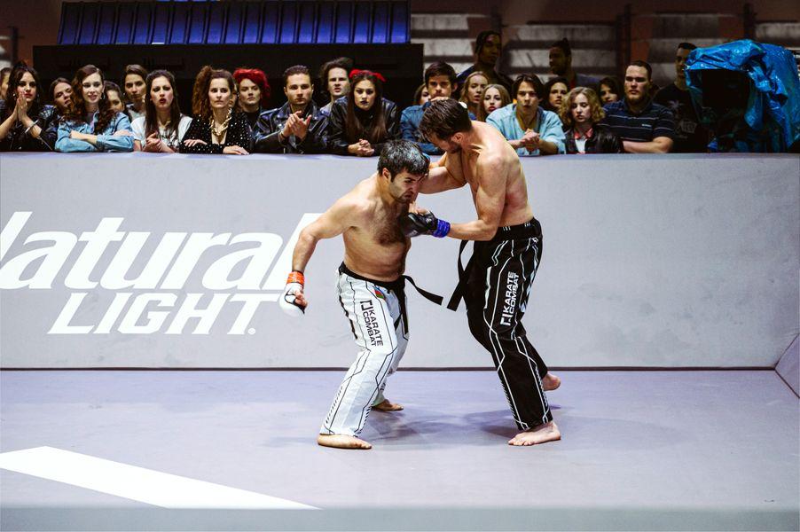 Shahin Atamov vs Bryan Van Waesberghe at Event 6 of Karate Combat Season 3